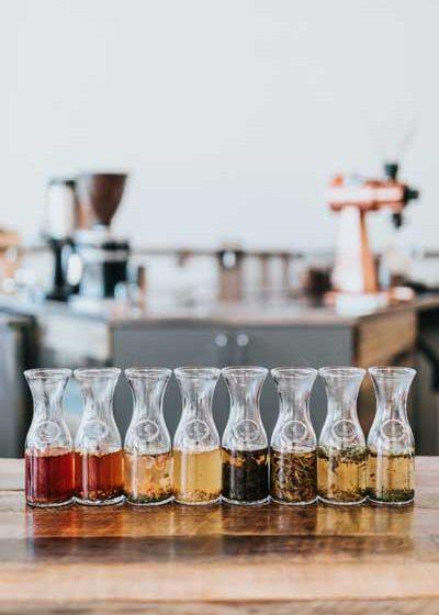 Fioles d'huiles parfumées