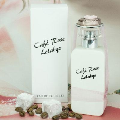 eau de toilette pour femme Café Rose Lolabye