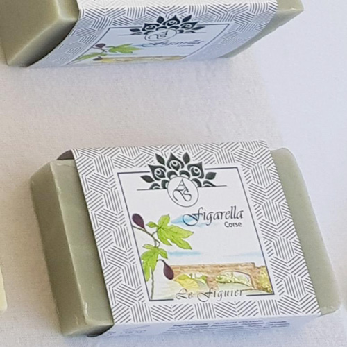 Savon au parfum figue 100% naturel