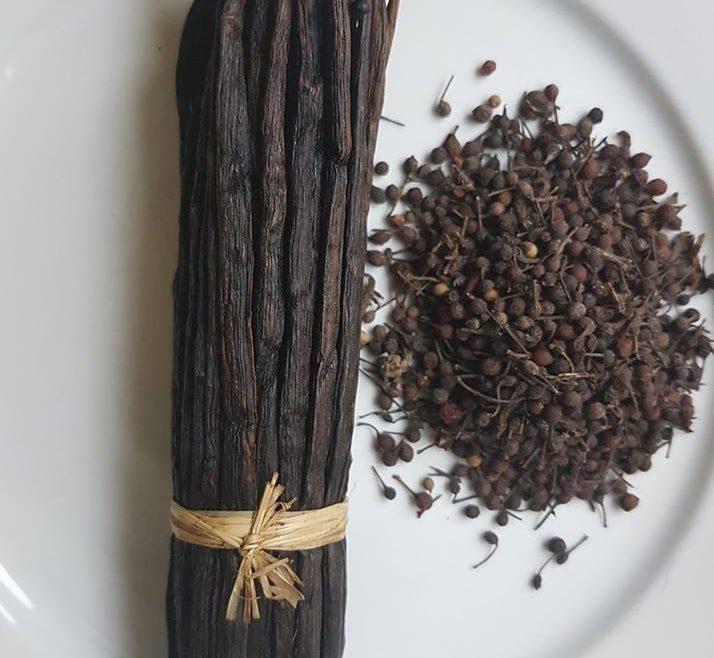 poivre noir et vanille de Madagascar
